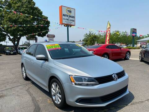 2012 Volkswagen Jetta for sale at TDI AUTO SALES in Boise ID