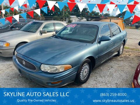 2001 Buick LeSabre for sale at SKYLINE AUTO SALES LLC in Winter Haven FL