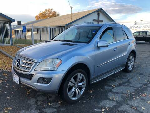 2010 Mercedes-Benz M-Class for sale at All Cars & Trucks in North Highlands CA