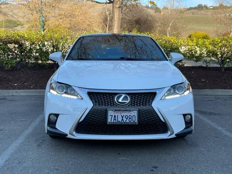 2014 Lexus CT 200h for sale at CARFORNIA SOLUTIONS in Hayward CA