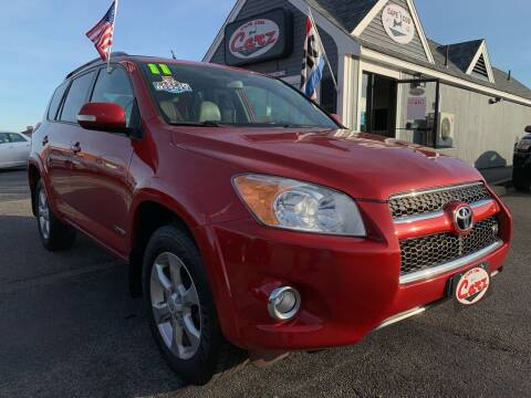 2011 Toyota RAV4 for sale at Cape Cod Carz in Hyannis MA