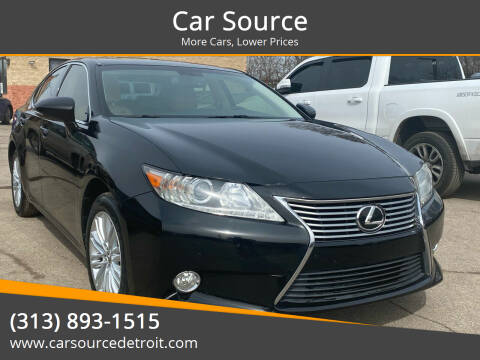 2013 Lexus ES 350 for sale at Car Source in Detroit MI