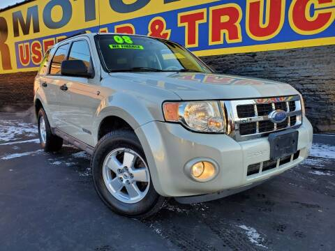 2008 Ford Escape for sale at B & R Motor Sales in Chicago IL