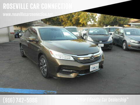 2017 Honda Accord Hybrid for sale at ROSEVILLE CAR CONNECTION in Roseville CA