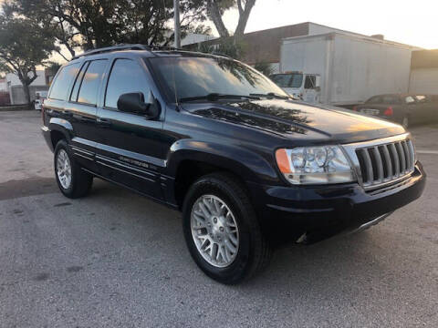 2004 Jeep Grand Cherokee for sale at Florida Cool Cars in Fort Lauderdale FL