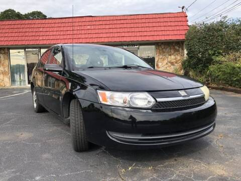 2004 Saturn Ion for sale at L & M Auto Broker in Stone Mountain GA