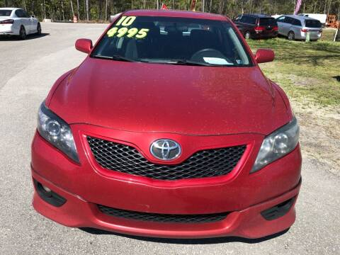 2010 Toyota Camry for sale at County Line Car Sales Inc. in Delco NC