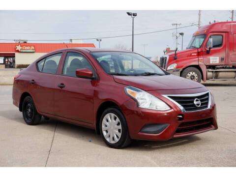 2016 Nissan Versa for sale at Sand Springs Auto Source in Sand Springs OK