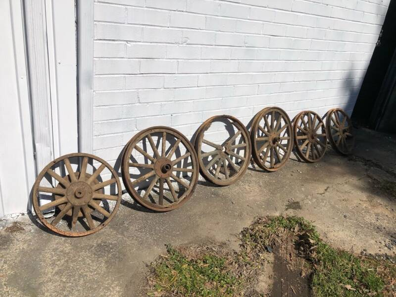 Ford Wooden Wheels for sale at First Class Autos in Maiden NC