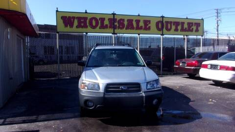 2005 Subaru Forester for sale at LONG BROTHERS CAR COMPANY in Cleveland OH