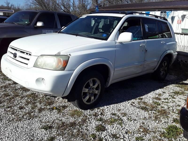 2004 Toyota Highlander for sale at New Start Motors LLC - Rockville in Rockville IN