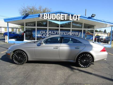 2006 Mercedes-Benz CLS for sale at THE BUDGET LOT in Detroit MI