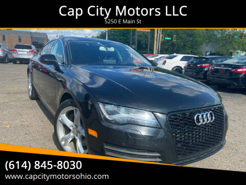 2012 Audi A7 for sale at Cap City Motors LLC in Columbus OH