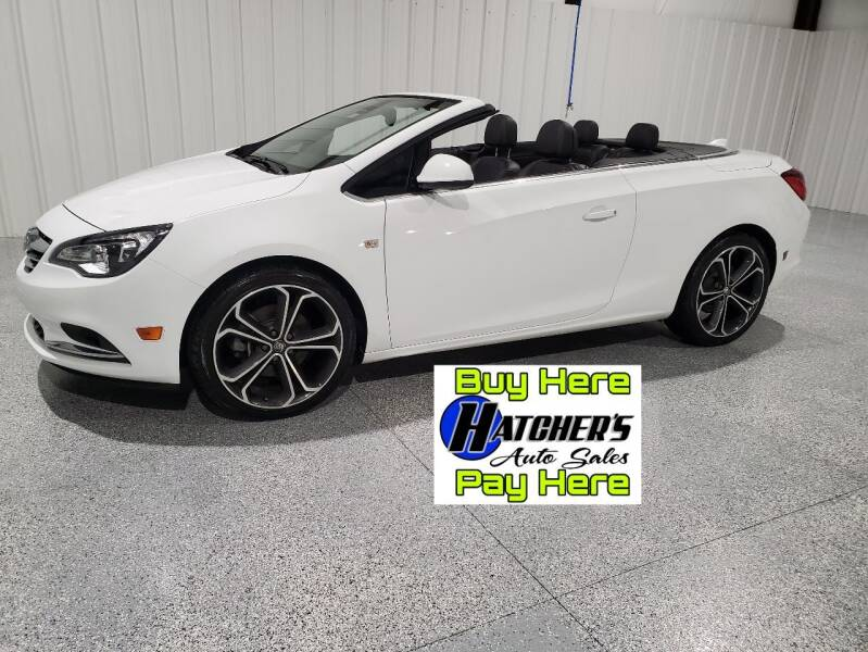 2016 Buick Cascada for sale at Hatcher's Auto Sales, LLC in Campbellsville KY