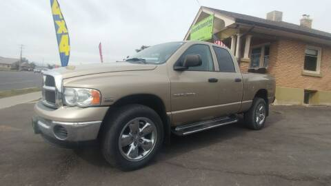 2004 Dodge Ram Pickup 1500 for sale at Everett Automotive Group in Pleasant Grove UT