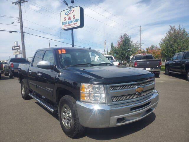 2013 Chevrolet Silverado 1500 for sale at S&S Best Auto Sales LLC in Auburn WA
