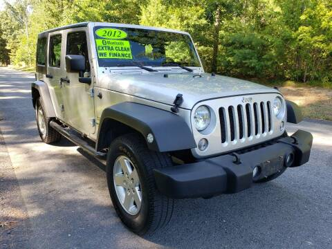 2012 Jeep Wrangler Unlimited for sale at Showcase Auto & Truck in Swansea MA