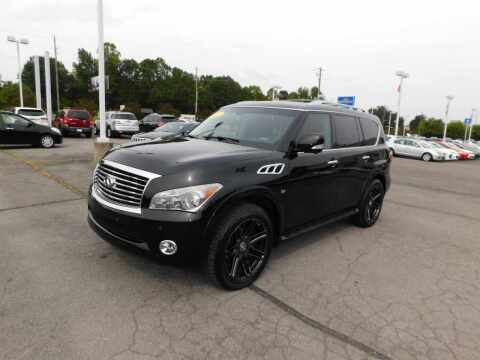 2014 Infiniti QX80 for sale at Paniagua Auto Mall in Dalton GA