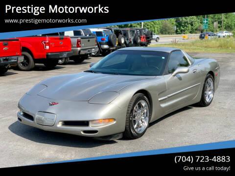 1999 Chevrolet Corvette for sale at Prestige Motorworks in Concord NC