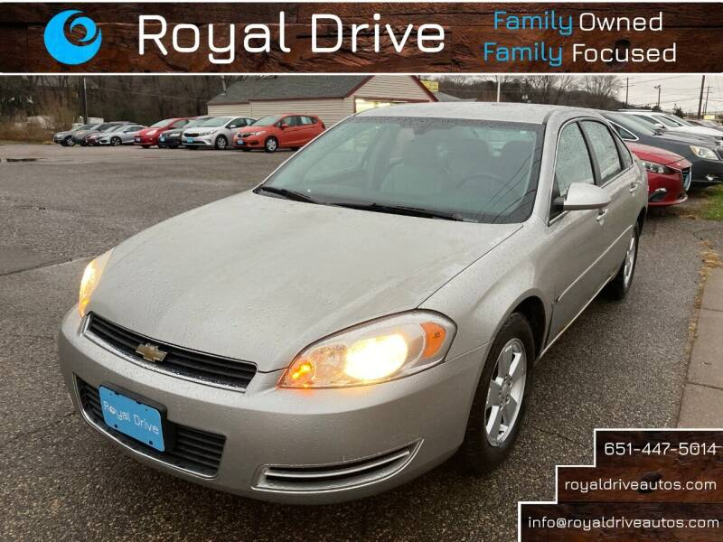2008 Chevrolet Impala for sale at Royal Drive in Newport MN