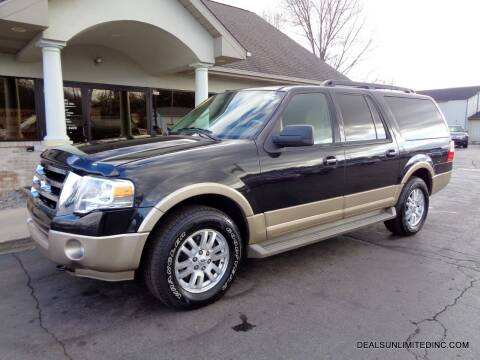 2012 Ford Expedition EL for sale at DEALS UNLIMITED INC in Portage MI