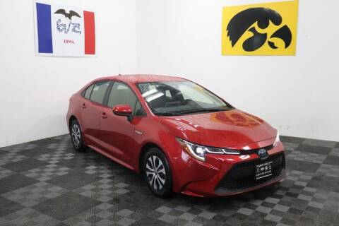 2020 Toyota Corolla Hybrid for sale at Carousel Auto Group in Iowa City IA