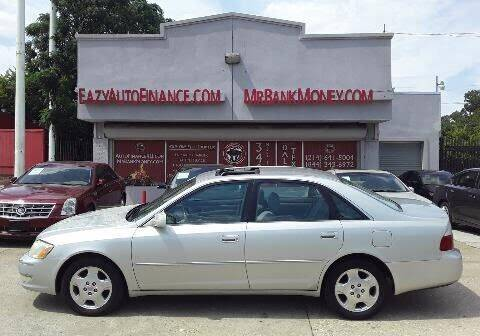 2004 Toyota Avalon for sale at Eazy Auto Finance in Dallas TX