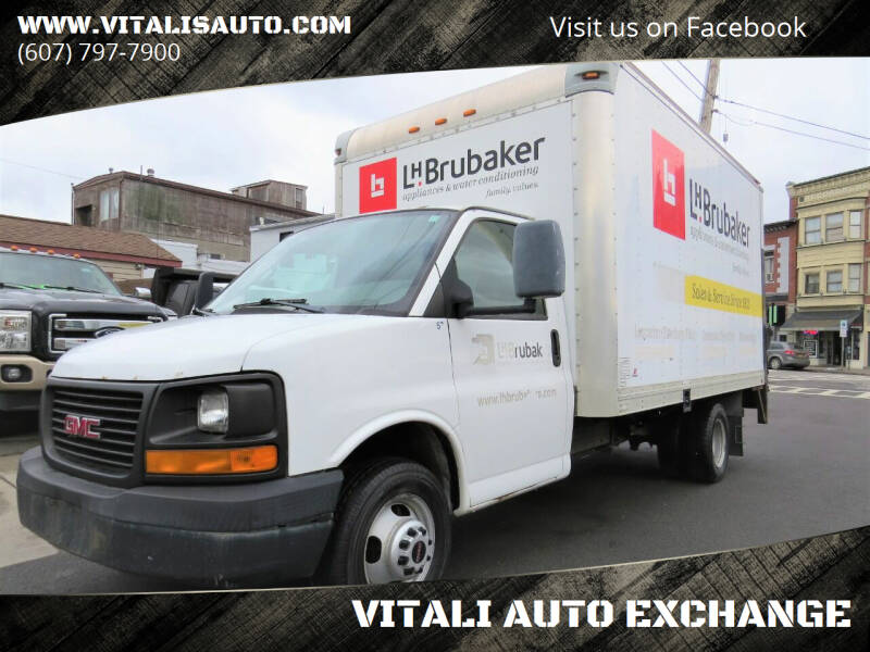 2007 GMC Savana Cutaway for sale at VITALI AUTO EXCHANGE in Johnson City NY