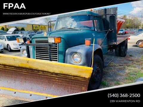 1976 International Loadstar 1600 for sale at FPAA in Fredericksburg VA