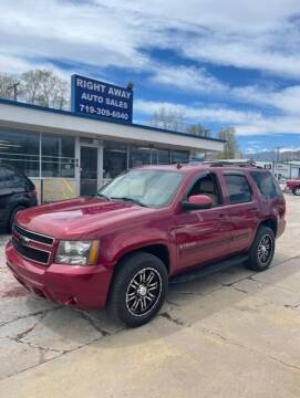 2007 Chevrolet Tahoe for sale at Right Away Auto Sales in Colorado Springs CO