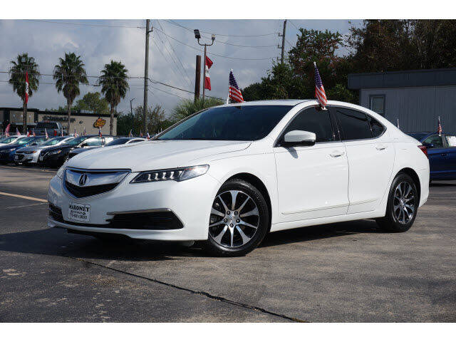 2015 Acura TLX for sale at Maroney Auto Sales in Humble TX