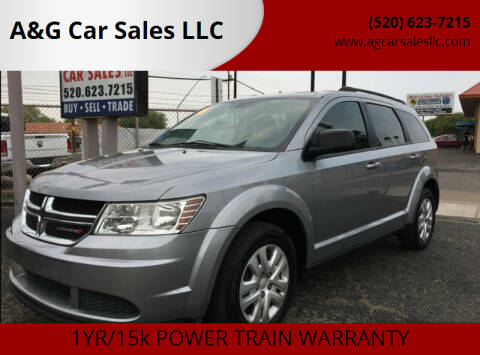 2016 Dodge Journey for sale at A&G Car Sales  LLC in Tucson AZ