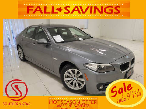2015 BMW 5 Series for sale at Southern Star Automotive, Inc. in Duluth GA