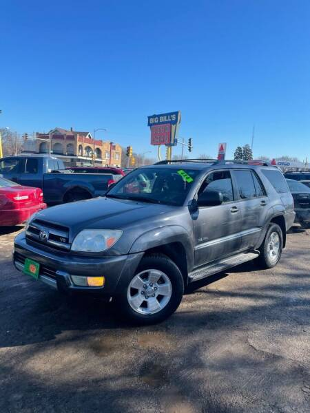 2004 Toyota 4Runner for sale at Big Bills in Milwaukee WI