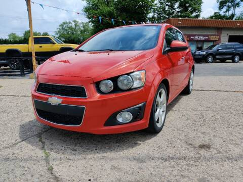 2012 Chevrolet Sonic for sale at Lamarina Auto Sales in Dearborn Heights MI