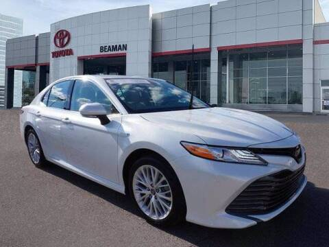 2020 Toyota Camry Hybrid for sale at BEAMAN TOYOTA in Nashville TN