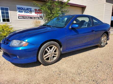 2004 Chevrolet Cavalier for sale at Hollatz Auto Sales in Parkers Prairie MN
