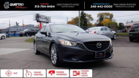 2016 Mazda MAZDA6 for sale at Quattro Motors 2 - 1 in Redford MI