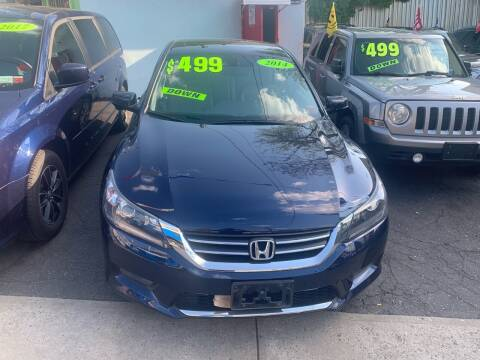 2014 Honda Accord for sale at Best Cars R Us LLC in Irvington NJ