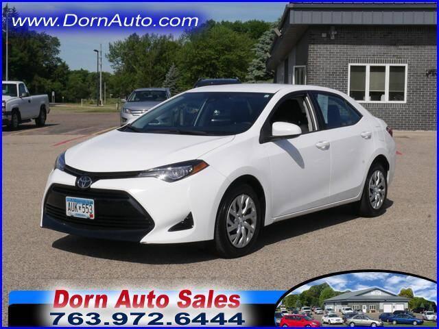 2018 Toyota Corolla for sale at Jim Dorn Auto Sales in Delano MN