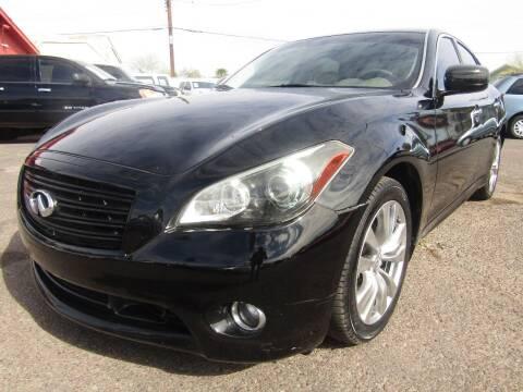 2013 Infiniti M37 for sale at Van Buren Motors in Phoenix AZ