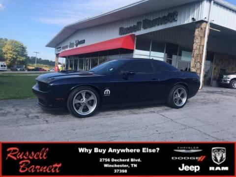 2016 Dodge Challenger for sale at Russell Barnett Chrysler Dodge Jeep Ram in Winchester TN