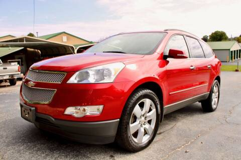 2012 Chevrolet Traverse for sale at Prime Time Auto Sales LLC in Martinsville IN