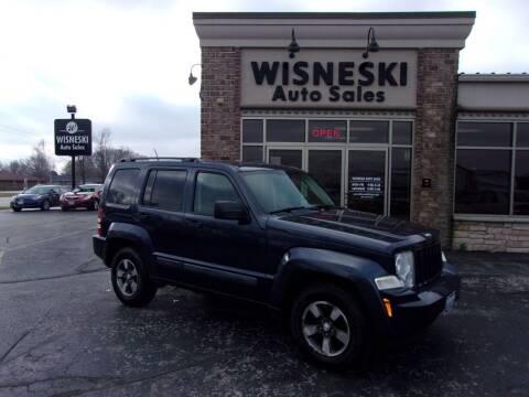 2008 Jeep Liberty for sale at Wisneski Auto Sales, Inc. in Green Bay WI