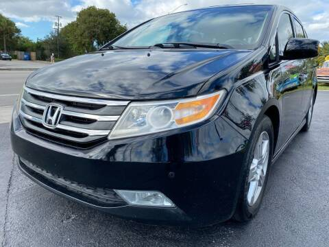 2012 Honda Odyssey for sale at KD's Auto Sales in Pompano Beach FL