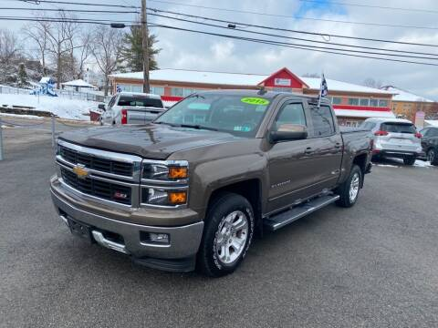 2015 Chevrolet Silverado 1500 for sale at Sisson Pre-Owned in Uniontown PA