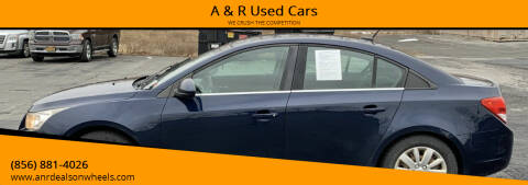 2011 Chevrolet Cruze for sale at A & R Used Cars in Clayton NJ
