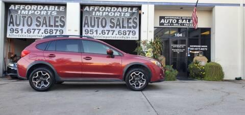 2014 Subaru XV Crosstrek for sale at Affordable Imports Auto Sales in Murrieta CA