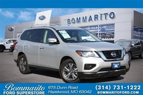 2020 Nissan Pathfinder for sale at NICK FARACE AT BOMMARITO FORD in Hazelwood MO
