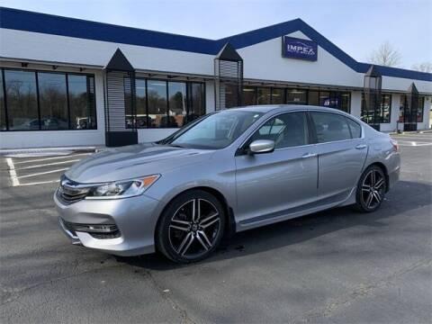 2017 Honda Accord for sale at Impex Auto Sales in Greensboro NC